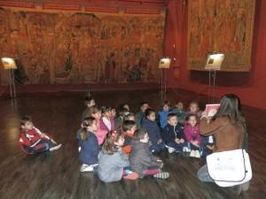 También vimos la colección de tapices