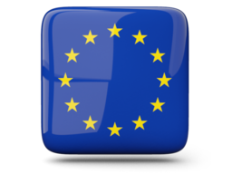 european_union_glossy_square_icon_256