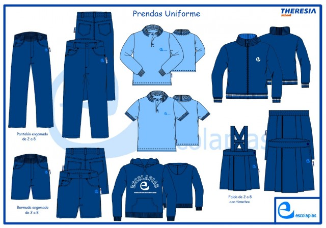 Prendas uniforme Escolapias